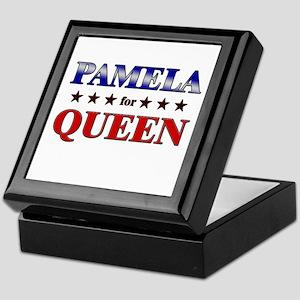 PAMELA for queen Keepsake Box