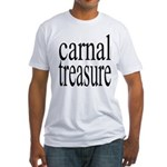 323. carnal tresure.. Fitted T-Shirt