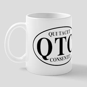 Silence Implies Consent Mug