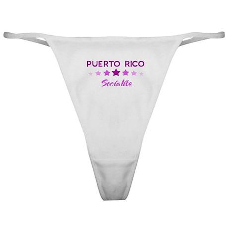 PUERTO RICO socialite Classic Thong