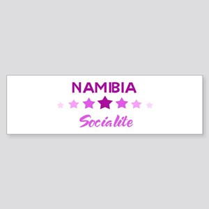 NAMIBIA socialite Bumper Sticker