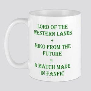 Lord+Miko Green Mug