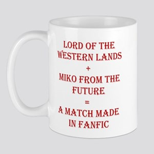Lord+Miko Red Mug
