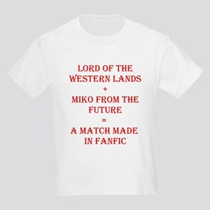 Lord+Miko Red Kids Light T-Shirt