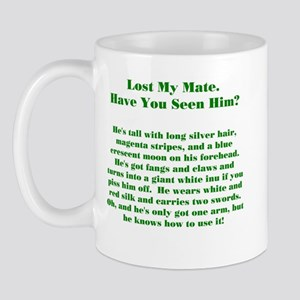 Lost Mate Green Mug