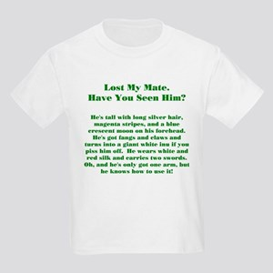 Lost Mate Green Kids Light T-Shirt