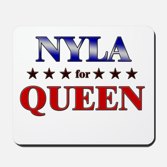 NYLA for queen Mousepad