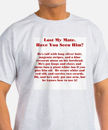 Lost Mate Red T-Shirt
