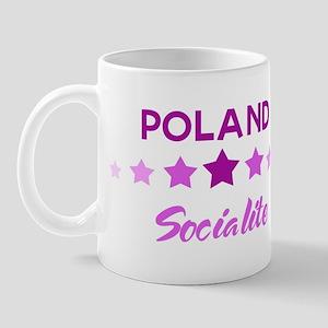 POLAND socialite Mug