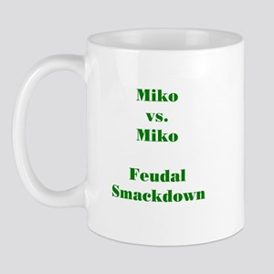 Miko vs. Miko FS Green Mug