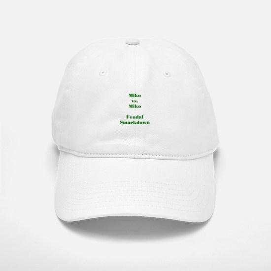 Miko vs. Miko FS Green Baseball Baseball Cap