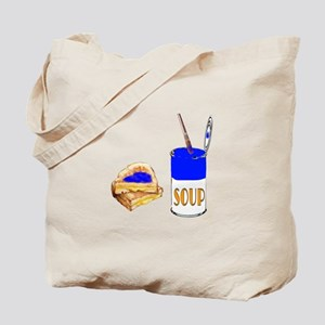 Soup and sandwich Tote Bag