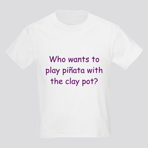 Pinata Clay Pot Purple Kids Light T-Shirt