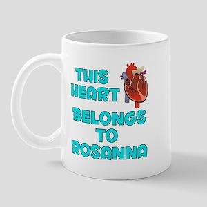 This Heart: Rosanna (B) Mug