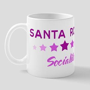 SANTA ROSA socialite Mug