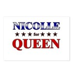 NICOLLE for queen Postcards (Package of 8)