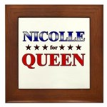 NICOLLE for queen Framed Tile