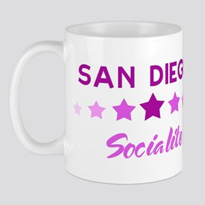 SAN DIEGO socialite Mug