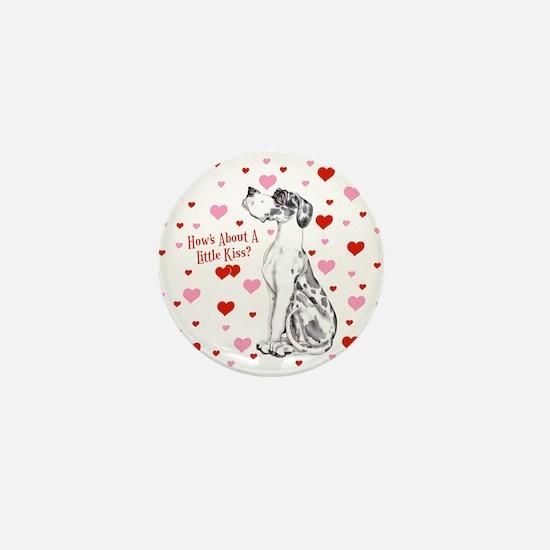 Great Dane Harle UC Kiss Mini Button