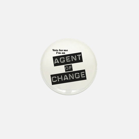 Agent of Change Mini Button