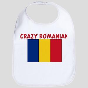 CRAZY ROMANIAN Bib