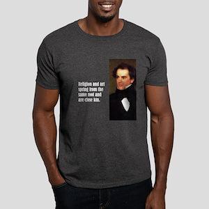 """Hawthorne """"Religion"""" Dark T-Shirt"""