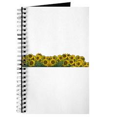 Sunflower Field Journal
