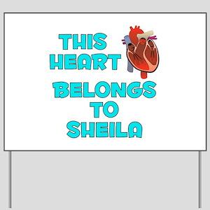 This Heart: Sheila (B) Yard Sign