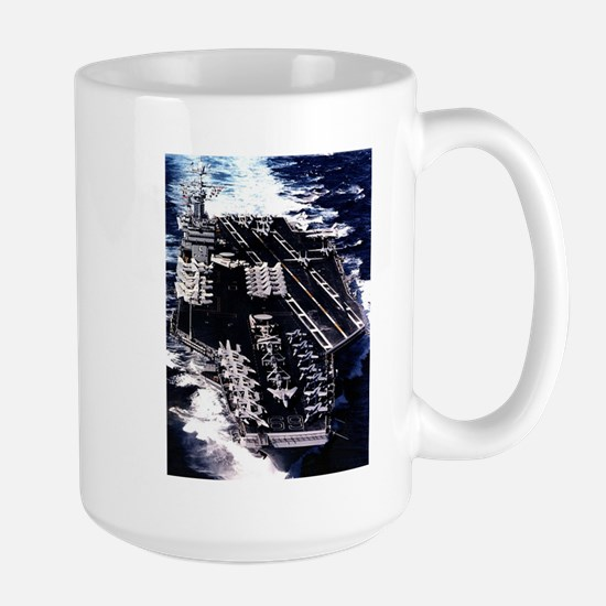 USS Eisenhower Ship's Image Large Mug