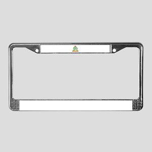 Keep Calm And Go To Oregon License Plate Frame