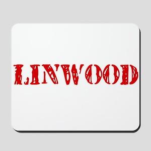 Linwood Rustic Stencil Design Mousepad