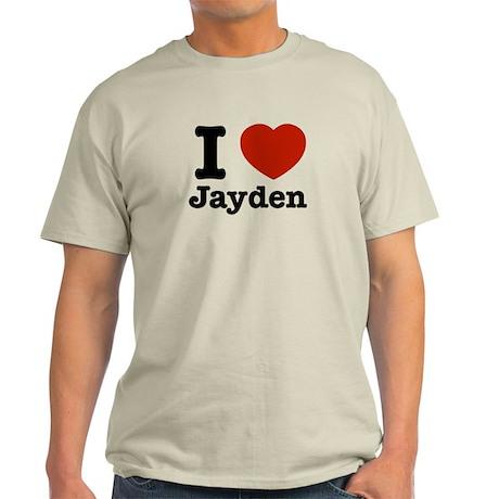 I love Jayden Light T-Shirt