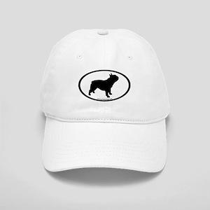 French Bulldog Oval Cap