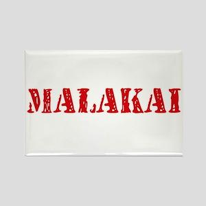 Malakai Rustic Stencil Design Magnets