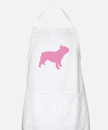 Pink French Bulldog BBQ Apron