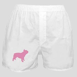 Pink French Bulldog Boxer Shorts