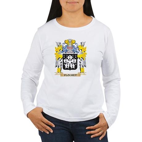 Flouret Coat of Arms - Family Long Sleeve T-Shirt
