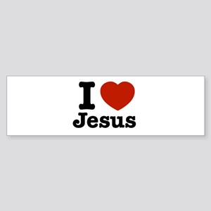 I love Jesus Bumper Sticker