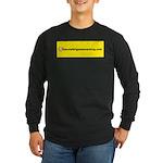 NOglobalwarming Long Sleeve Dark T-Shirt