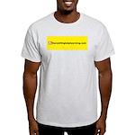 NOglobalwarming Light T-Shirt