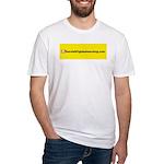 NOglobalwarming Fitted T-Shirt