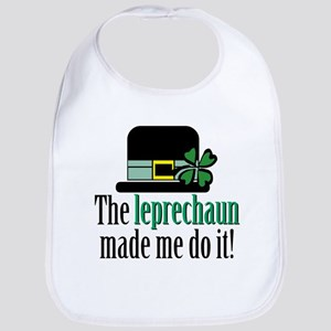 Leprechaun made me Bib