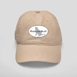 Russian Blue Oval Cap