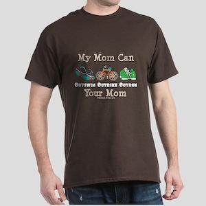 Mom Triathlete Triathlon Dark T-Shirt