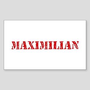 Maximilian Rustic Stencil Design Sticker