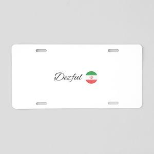 Dezful Aluminum License Plate