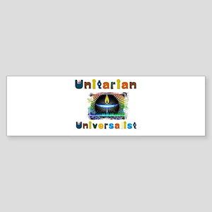 Unitarian Universalist 25 Merchandi Bumper Sticker