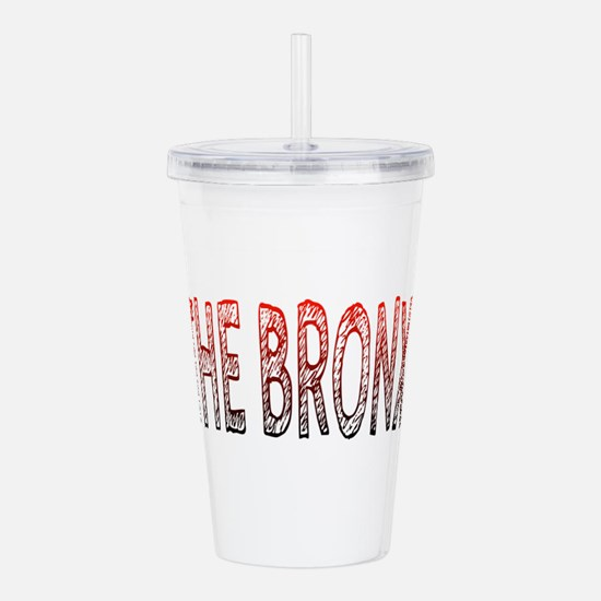 THE BRONX Acrylic Double-wall Tumbler