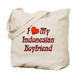 I Love My Indo Boyfriend Tote Bag