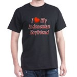 I Love My Indo Boyfriend Dark T-Shirt